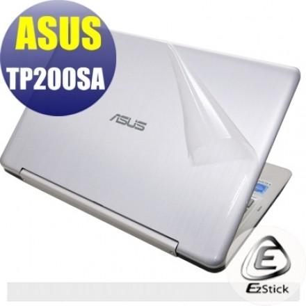 【Ezstick】ASUS TP200 T200SA 二代透氣機身保護貼 (含上蓋、鍵盤週圍) DIY 包膜