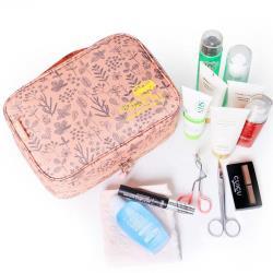 JIDA 420D加密防水小清新可懸掛盥洗化妝包(隨機出貨)