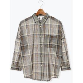 【6,000円(税込)以上のお買物で全国送料無料。】80ローンリラックスシャツ