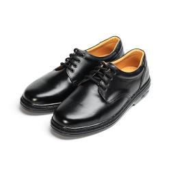 BONJO 真皮綁帶學生鞋 黑 男鞋 鞋全家福