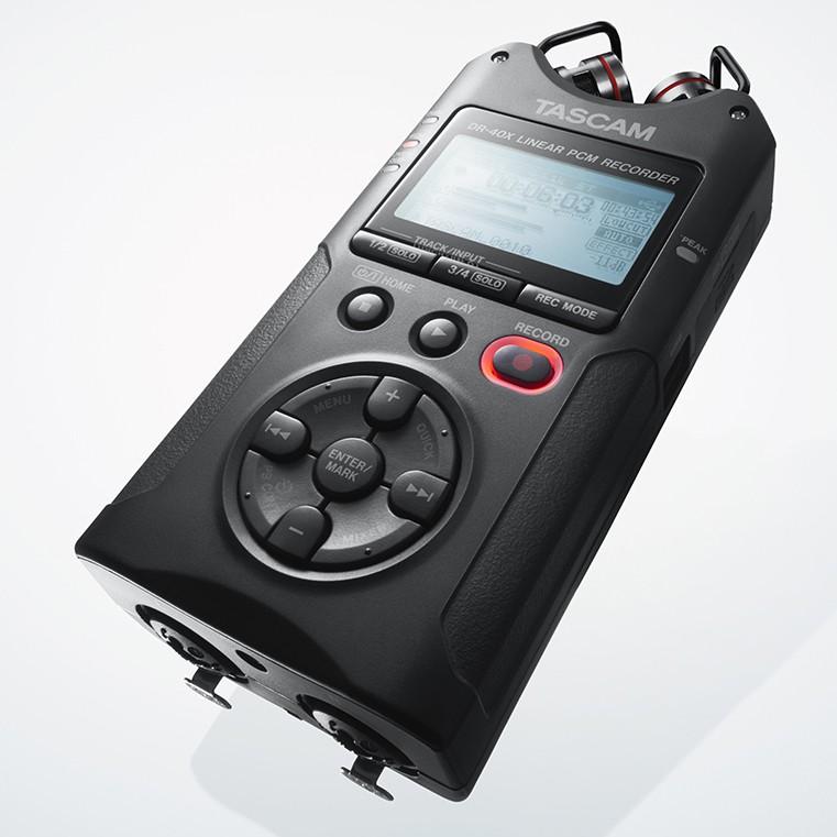 TASCAM DR-40X 錄音筆 攜帶型數位錄音機 錄音器 (DR-40新版) 達斯冠【正成公司貨】