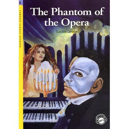 CCR6:The Phantom of the Opera (with MP3)書號:1700055ISBN:9781599663258作者:Gaston Leroux出版日期:2009 年 01 月