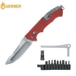 Gerber Hinderer Rescue 救援者多功能鋸齒折刀22-01534
