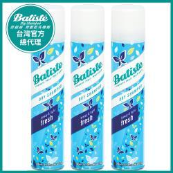 Batiste秀髮乾洗噴劑-玩酷中性200ml-3入(買就送神奇魔髮梳)