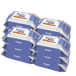 優生 超厚型抗菌酒精濕巾80抽12包