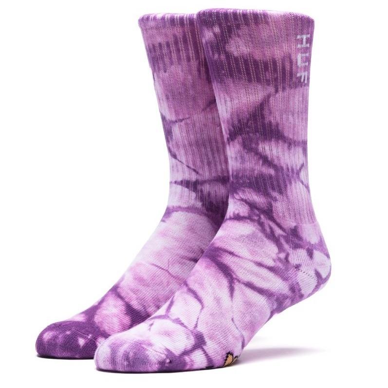 HUF 中筒 襪 SK00042 紫色