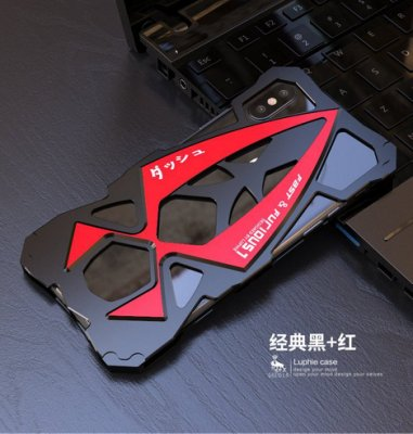 ⚡️雷神機甲X816⚡️四色X i Phone 6s-7-8 Plus超跑L⚡️防摔鋁合金屬邊框背蓋手機殼保護殼