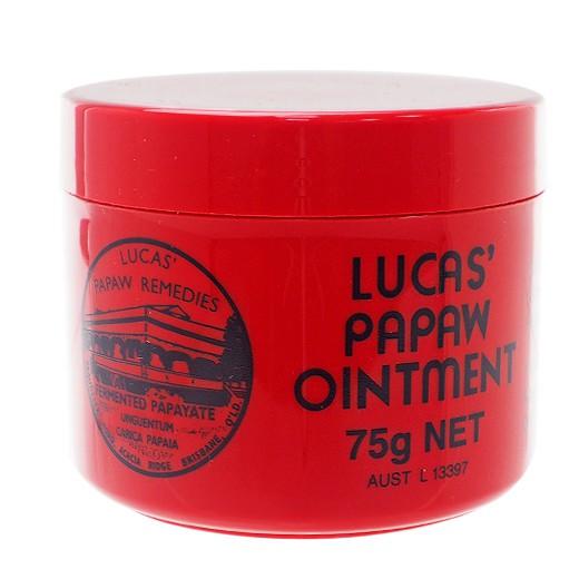澳洲 Lucas Papaw 木瓜霜(75g)【小三美日】護唇膏/護手霜/屁屁霜 D304917