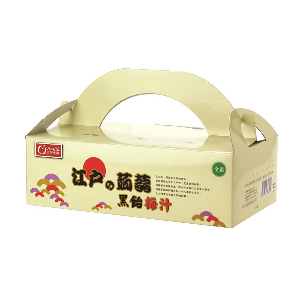 【康健生機】江戶蒟蒻禮盒3盒組(50gx18入/盒)