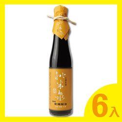 桃米泉 頂級有機蔭油6入(410ml/瓶)