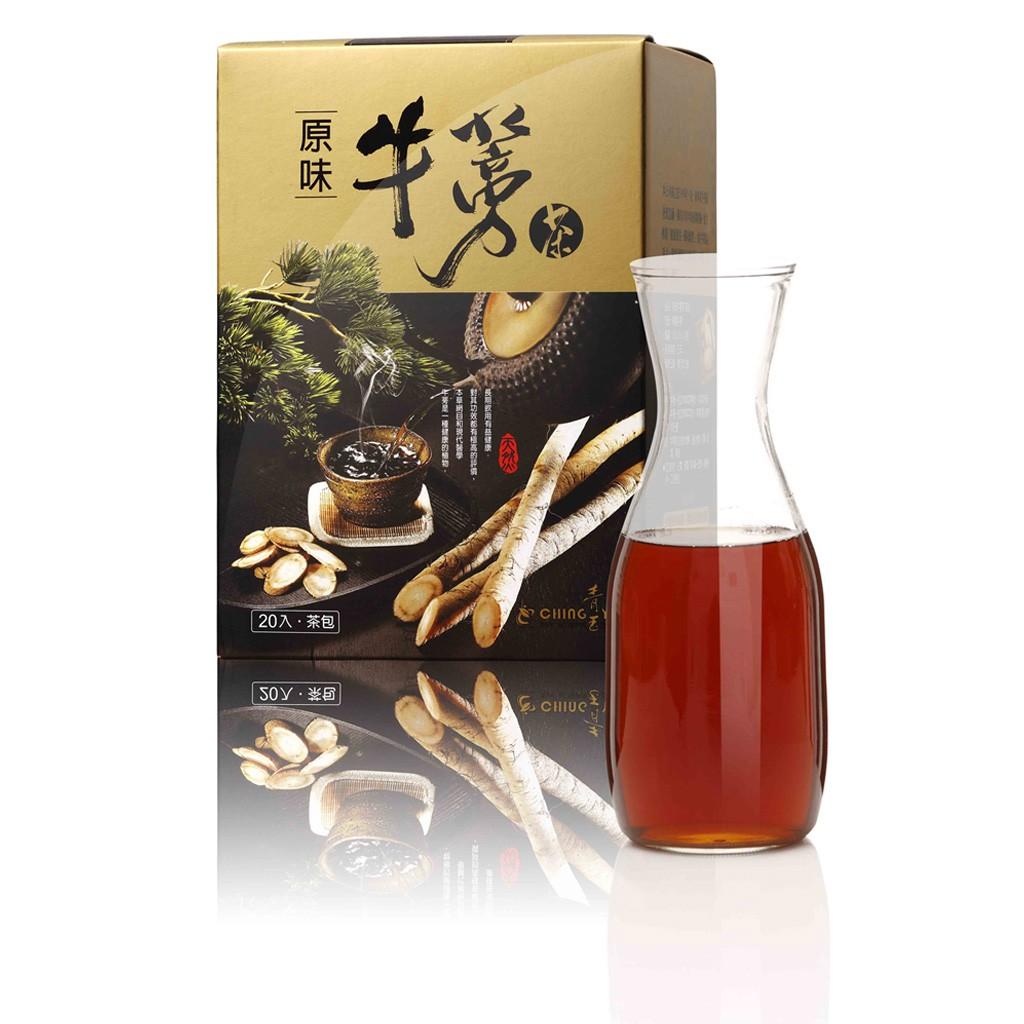 [青玉牛蒡茶] 原味牛蒡茶包 (15Gx20包/1盒) 頂級牛蒡 天然牛蒡 牛蒡養生精品 養生牛蒡茶包