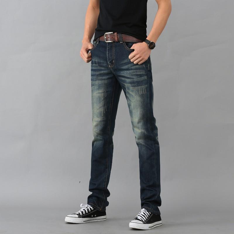 男士爆款牛仔褲 修身直筒牛仔褲 大尺碼褲子 帥氣百搭牛仔長褲 男生衣著丹寧長褲 貨到付款