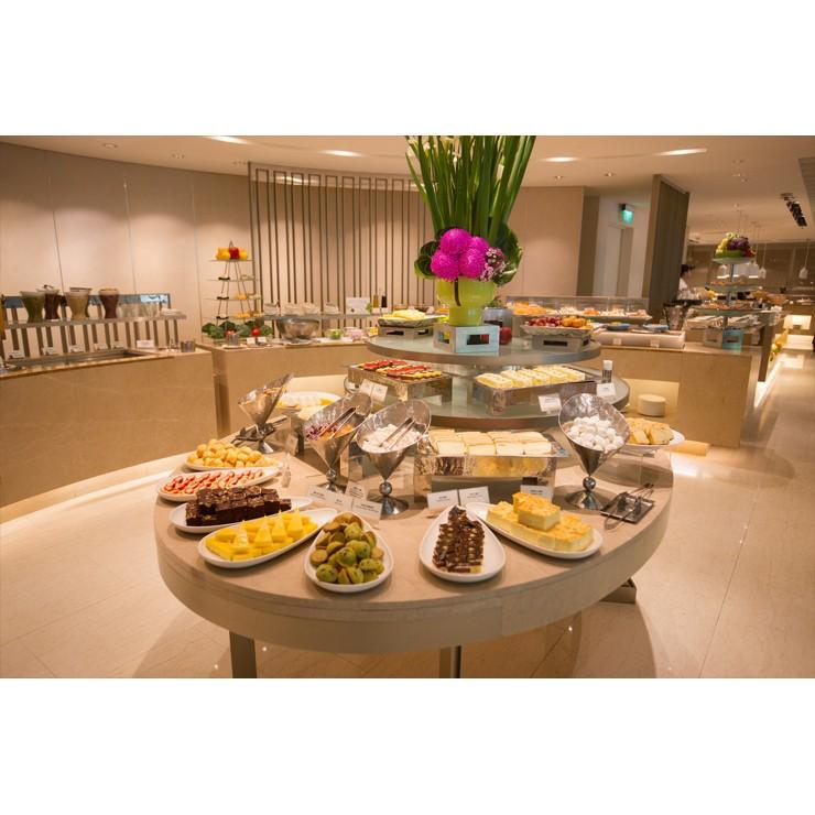 台北老爺酒店LeCafe餐廳自助式吃到飽午餐或晚餐券(雙人)