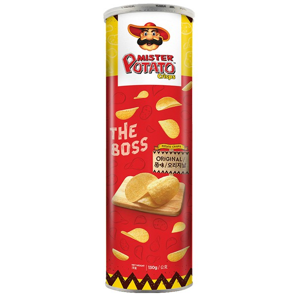 薯片先生-原味 130g【康鄰超市】