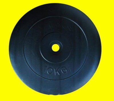 【Fitek 健身網㊣台灣製槓鈴片】10公斤槓片啞鈴☆10KG槓片☆舉重重量訓練適用㊣台灣製