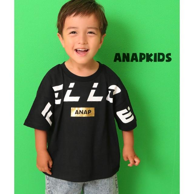 ANAP KIDS アナップキッズ FELLOWプリントTシャツ