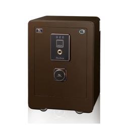 聚富吉祥精品指紋保險箱(55MWC)棕金庫/防盜/電子式/指紋鎖/保險櫃/手機智能通報