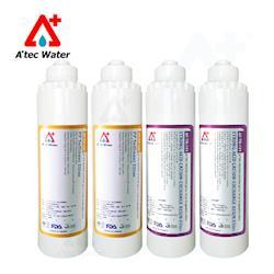 ATEC 第一道初過濾濾芯AF-TP-101(2入)+第二道樹脂濾芯AF-TR-101(2入)