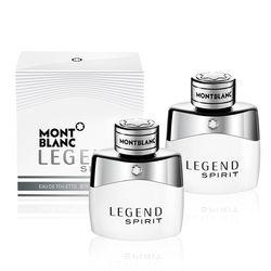 【MONT BLANC】買一送一-傳奇白朗峰男仕淡香水30ml