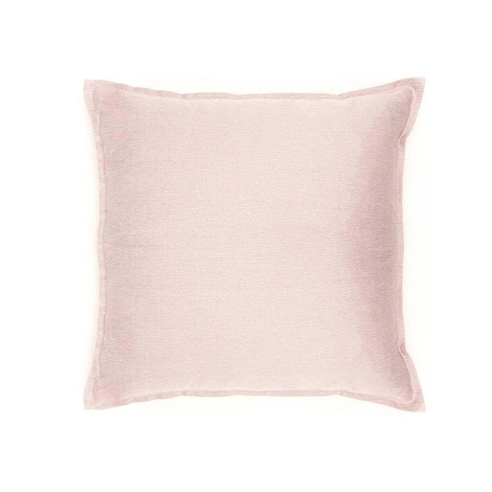 HOLA 素色織紋抱枕60x60cm 粉紫色