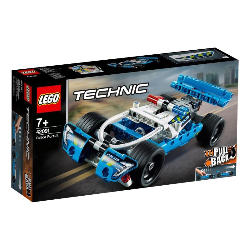 樂高LEGO TECHNIC 員警追逐車 玩具e哥42091