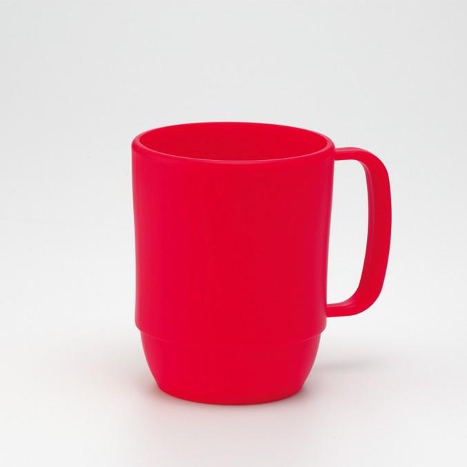 可微波調理牛奶杯(紅/咖/白) 漱口杯
