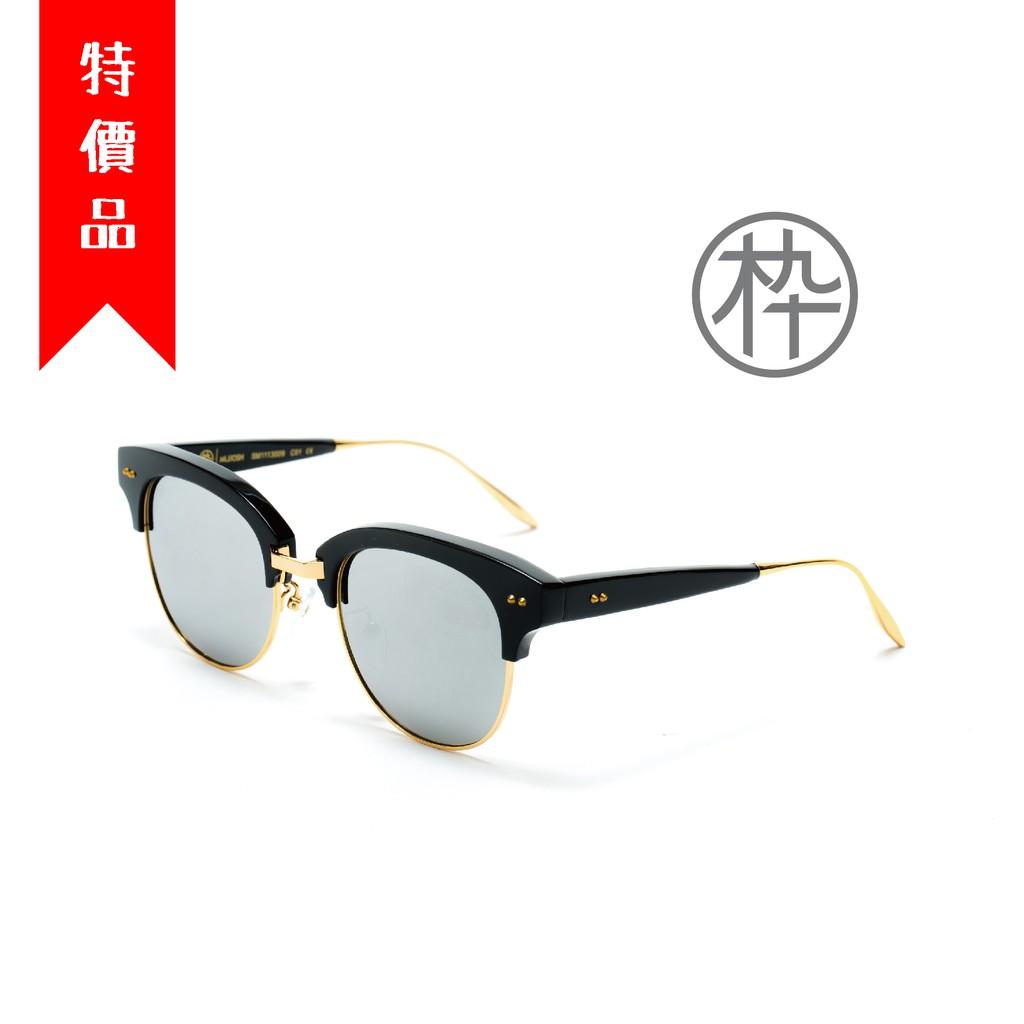 木九十 MUJOSH SM1611009 時尚細腳半框太陽眼鏡