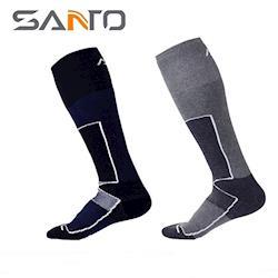 山拓Santo杜邦COOLMAX運動襪登山襪S023 S024(全厚款,超長筒,吸濕排汗)