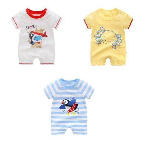 嬰兒短袖連身衣 春夏兔裝 寶寶童裝 LZ22357 好娃娃