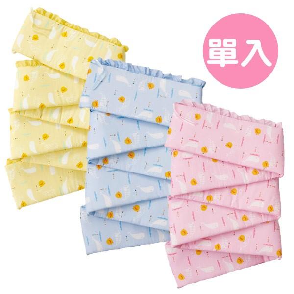 Piyo 黃色小鴨 彩繪海洋床圍-L (藍/粉/黃)【佳兒園婦幼館】