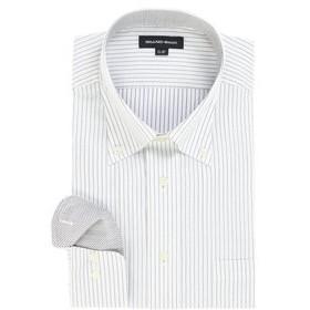 【GRAND-BACK:トップス】【大きいサイズ】グランバック/GRAND-BACK 形態安定ボタンダウン長袖ビジネスドレスシャツ