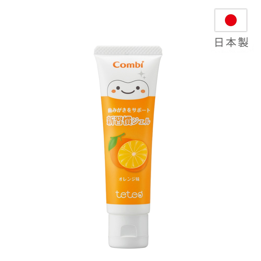 Combi teteo幼童含氟牙膏(橘子)