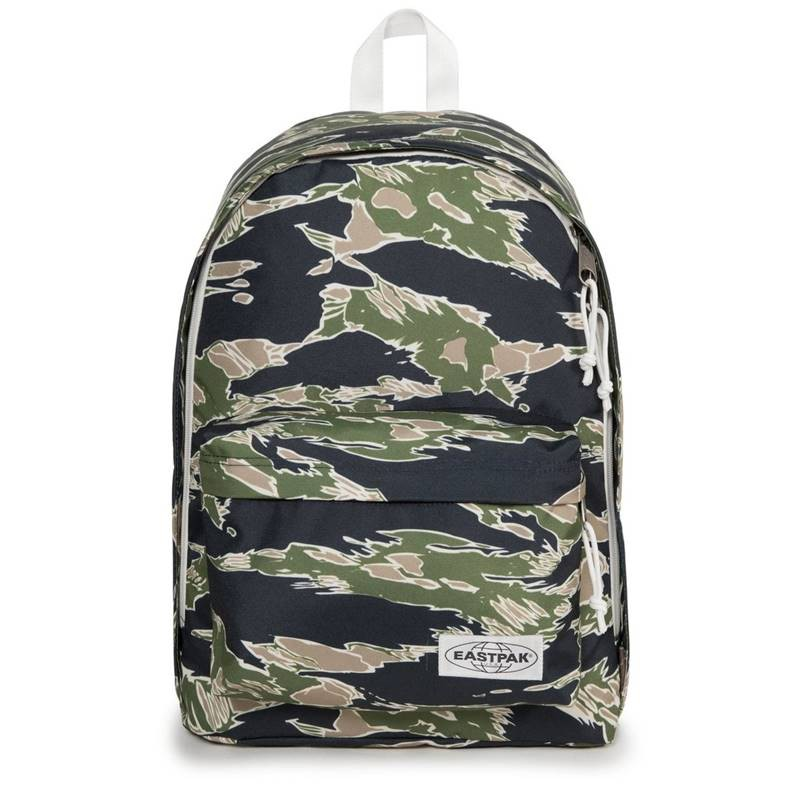 EASTPAK Out Of Office系列 多功能電腦後背包 背包 Camoed Forest