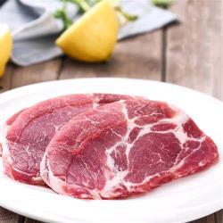 豪鮮牛肉 頂級雪花沙朗豬排36片(80g/片)