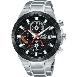 ALBA 玩轉時尚 三眼計時腕錶(黑/42mm) VD57-X080D/AM3337X1