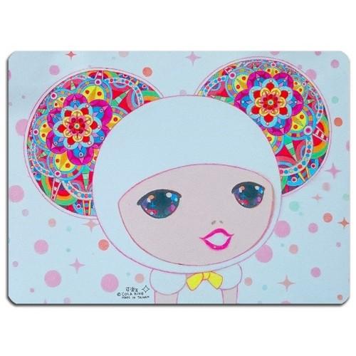 可樂王-滑鼠墊-白色美人