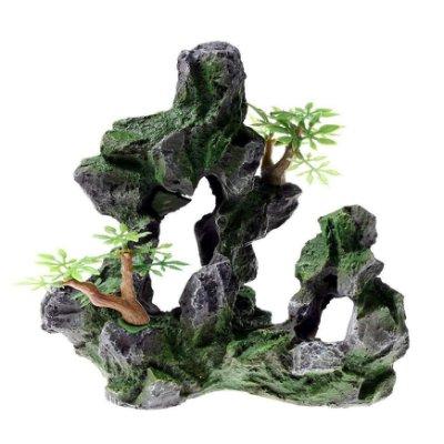岩石造景裝飾  水族擺飾 水族造景 魚蝦躲藏 KD908