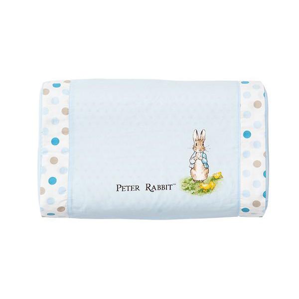 奇哥 花園比得兔 乳膠中童枕/枕頭/乳膠枕(附枕頭套)(藍色)【麗兒采家】