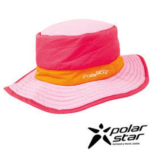 PolarStar 防潑水圓盤帽 『粉紅』 P15601 遮陽帽 保暖帽 柔軟 舒適 可壓縮 戶外 休閒 旅遊