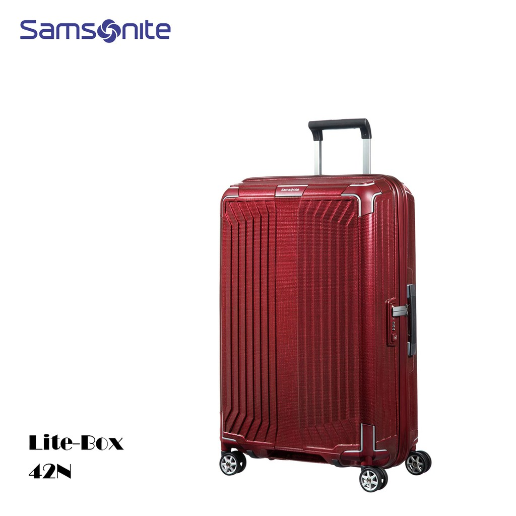 Samsonite 新秀麗【Lite-Box 42N】25吋行李箱 歐洲製 2.6kg超輕量 CURV® 附原廠保卡