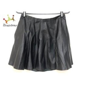 セオリー theory スカート サイズ0 XS レディース 黒 レザー   スペシャル特価 20191004