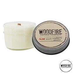 美國 WOODFIRE 復古純手工木芯香氛 NO.049 BLACK RASPBERRY VANILLA 香草覆盆子 113g