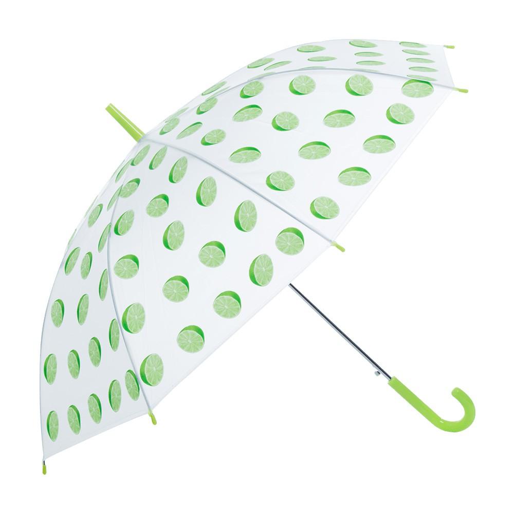 麗尚秀 繽紛果園系列 熱門水果印花長柄直傘《檸檬》晴雨傘 太陽傘 遮陽傘 雨傘 防潑水 自動傘 彎把傘【FA249】