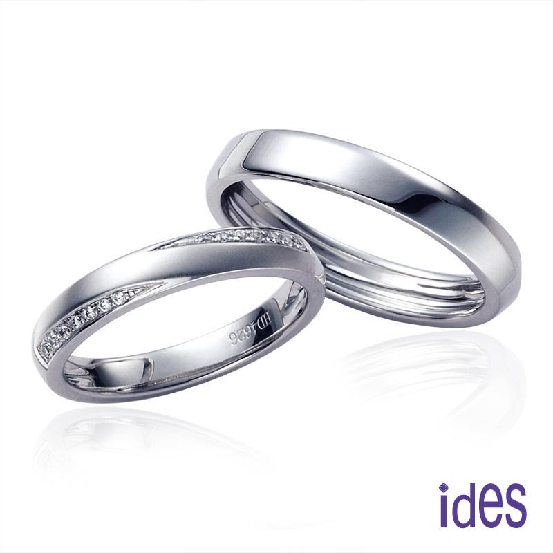 ides愛蒂思鑽石 情人對戒系列。紀錄愛情永恆收藏彼此歡愉時刻