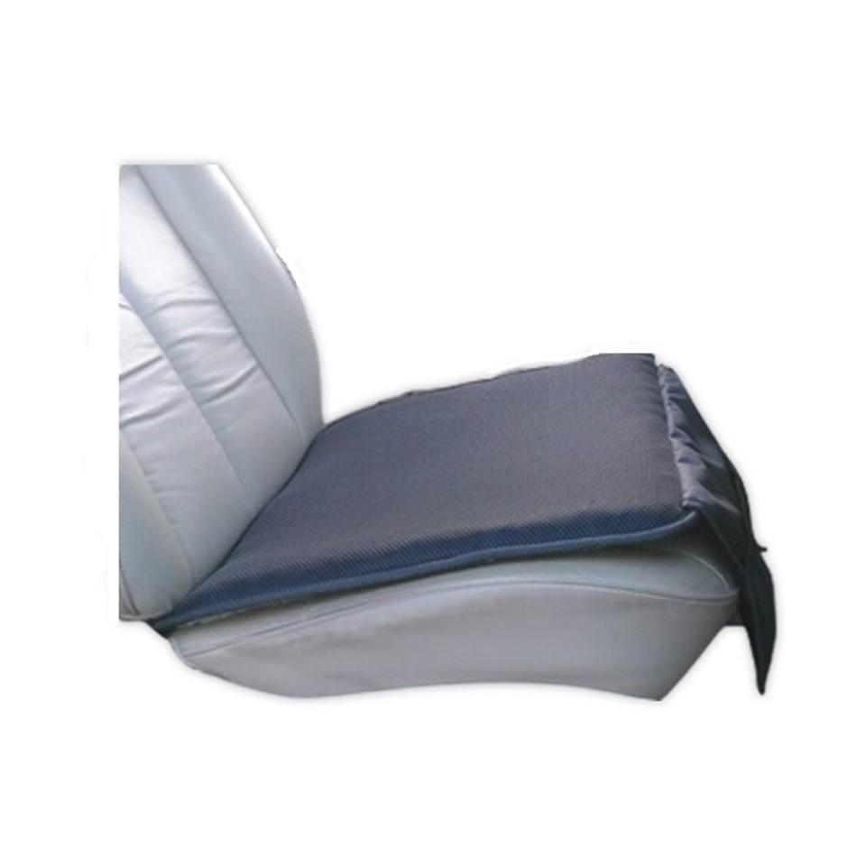 車用透氣涼感防滑坐墊 附飲料及收納置物袋