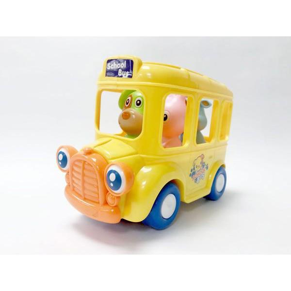 School Bus 電動搖擺巴士 校車 玩具e哥 24671