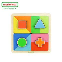 [Masterkidz]方形顏色配對拼圖