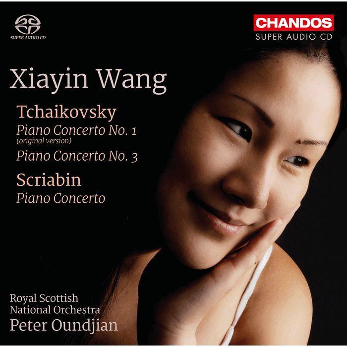 柴可夫斯基 鋼琴協奏曲 王夏音 Xiayin Wang Tchaikovsky CHSA5216