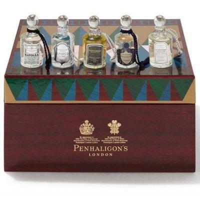 《里翁義趣購》英倫茗香~Penhaligon's 潘海利根 ~精緻 紳士Q版香水禮盒~ 5ml*5~情人節 最佳選擇