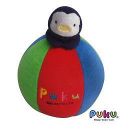 任-PUKU藍色企鵝 造型五彩球20*16cm